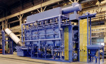 Rotary retort furnace / tempering / heat treatment / hardening