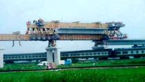Bridge construction launching gantry