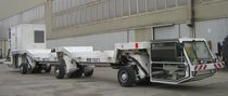 6-axle trailer / flatbed / for tunnel construction