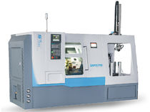 CNC lathe / high-precision / with automated loading/unloading / for stocking work pieces