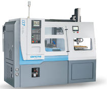 CNC lathe / high-precision / with automated loading/unloading / tray loading