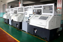 CNC lathe / 3-axis / with automated loading/unloading / tray loading