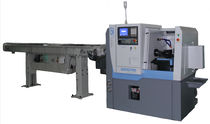 CNC lathe / 2-axis / with integrated bar feeder / precision