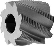 Slot milling cutter / shell-end / monobloc / HSS