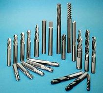 Roughing end mill / helical / monobloc / tungsten carbide