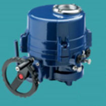 Electric valve actuator / part-turn / worm gear / explosion-proof