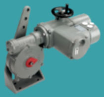 Manual valve actuator / linear / double-acting / worm gear