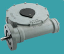 Orthogonal gear reducer / for valve actuators