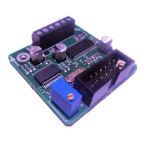 Stepper motor controller / DC / compact / OEM