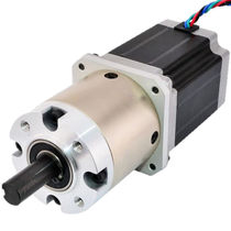 Stepper gearmotor / parallel-shaft / compact / low-voltage