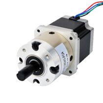 Stepper gearmotor / parallel-shaft / compact / 24V