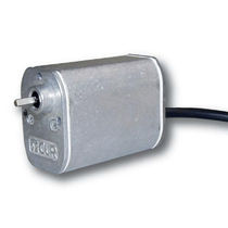 DC electric gearmotor / parallel-shaft / gear train / compact
