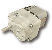 AC electric gearmotor / parallel-shaft / gear train / door
