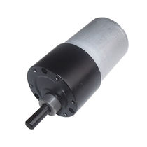 DC gearmotor / coaxial / gear train / compact