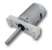 DC motor / brushed / 24V / 12V