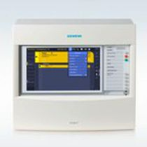 Terminal with touch screen / panel-mount / for fire detection systems / display