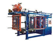 Particle foam molding machine / for expanded polystyrene / for expanded polypropylene / PLC-controlled