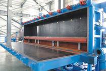 Particle foam molding machine / EPS block / PLC-controlled / automatic