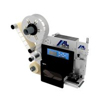 Thermal transfer label printer-applicator / one-color / for labels / for paper