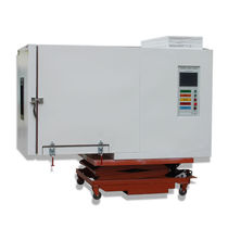 Environmental test chamber / environmental stress screening / with window / automatic