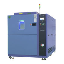 Compact thermal shock chamber / for high temperatures / low-temperature