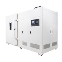 Aging test chamber / accelerated / walk-in / with xenon arc lamp