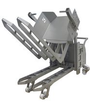 Electro-manual tilter / stainless steel
