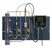 Water analyzer / chlorine / pH / portable