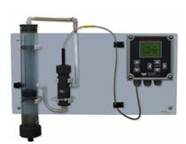 Chlorine analyzer / liquid / temperature / for integration
