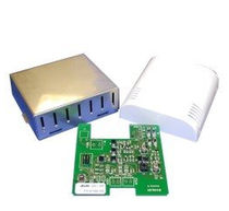 Relative humidity and temperature sensor / wall-mount