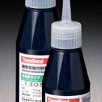 Epoxy adhesive / single-component / anaerobic / for metal