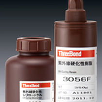Polyurethane adhesive / single-component / UV-polymerized / industrial