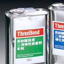 Elastomeric adhesive / two-component / elastic / impact-resistant