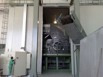 Hammer mill / horizontal / for metals / large