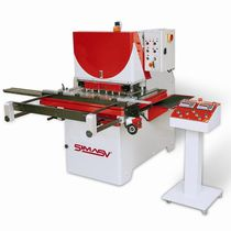 Variable-angle notching machine / automatic / shearing