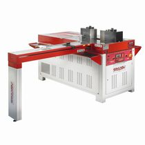 Hydraulic press brake / CNC / 2-axis