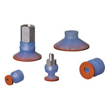Special suction cup / flat / circular / with sponge lining
