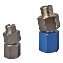 Angle ball joint / stainless steel / threaded
