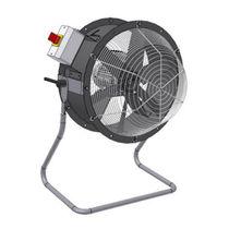 Floor-standing fan / axial / cooling / exhaust
