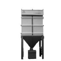 Cartridge dust collector / pulse-jet backflow / modular