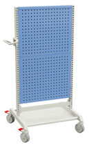 Perforated panels cart / tool-holder