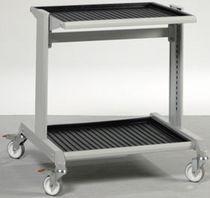 Shelf cart / multipurpose / metal
