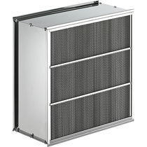 Air filter / panel / high-temperature / for pharmaceutical applications