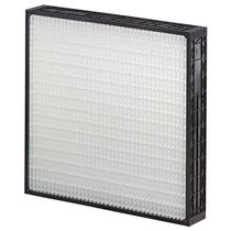 Air filter / panel / pleated / for the food industry