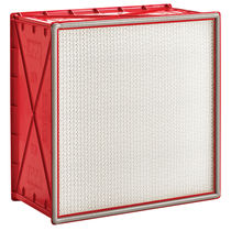 Air filter / panel / pleated / dust