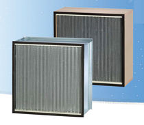 Air filter / panel / pleated / for pharmaceutical applications