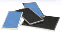 Air filter / panel / activated carbon / high-efficiency