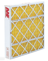 Air filter / panel / for gas turbines / pleated