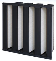 Air filter / panel / high-efficiency / for pharmaceutical applications