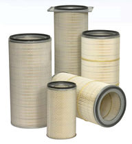 Air filter cartridge / dust / polyester / for gas turbines